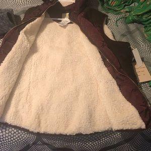 Other - Sleeveless winter vest Jacket